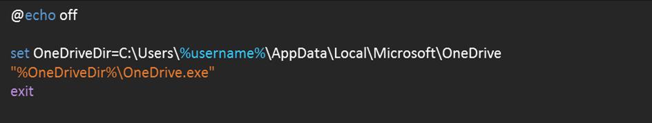 Skript Start OneDrive